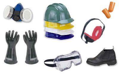 EPI - equipamentos de proteção individual